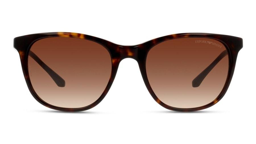 Emporio Armani EA 4086 Women's Sunglasses Brown/Tortoise Shell
