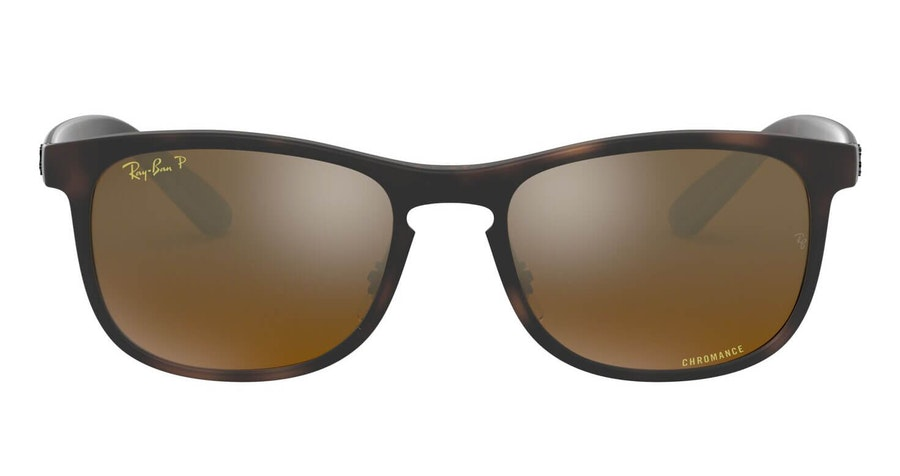 Ray-Ban RB 4263 (894/A3) Sunglasses Gold / Tortoise Shell