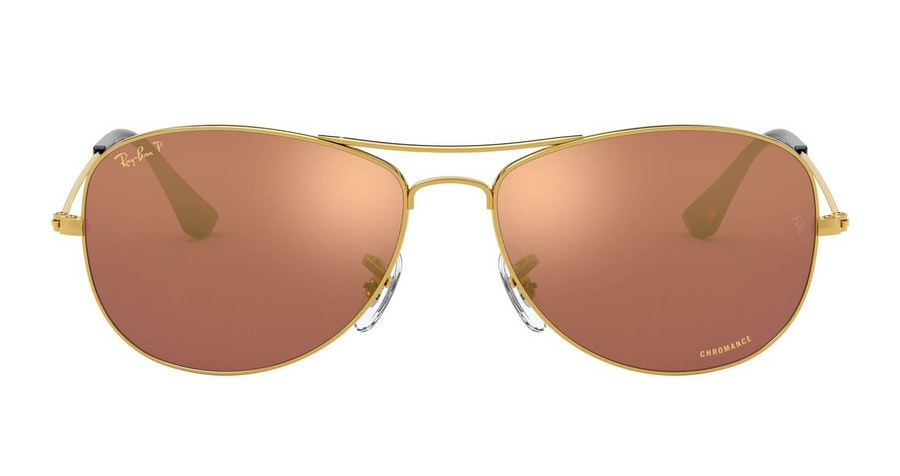 Ray-Ban RB 3562 (001/6B) Sunglasses Gold / Gold