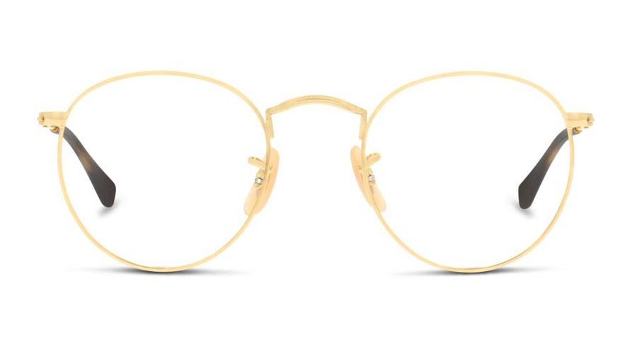 Ray-Ban Round Metal RX 3447V Men's Glasses Gold