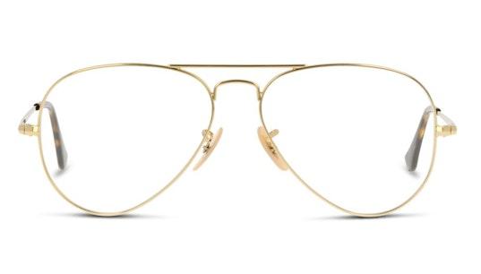 Aviator RX 6489 Unisex Glasses Transparent / Gold