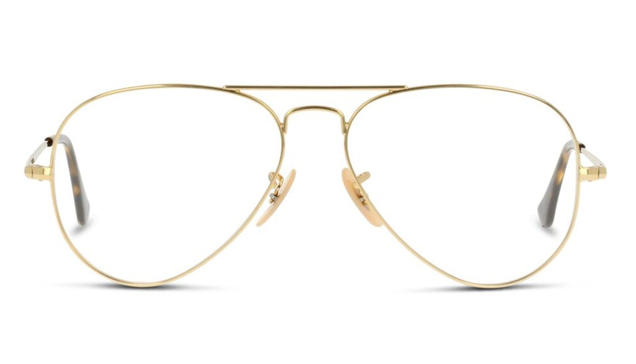 Ray-Ban Aviator RX 6489 (2500) Glasses Gold