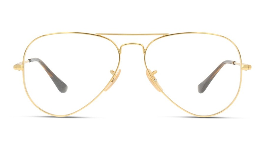 Ray-Ban Aviator RX 6489 (Large) Men's Glasses Gold
