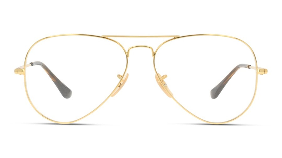 Ray-Ban Aviator RX 6489 Men's Glasses Gold