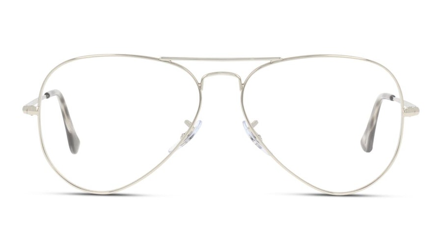 Ray-Ban Aviator RX 6489 (Large) Men's Glasses Silver