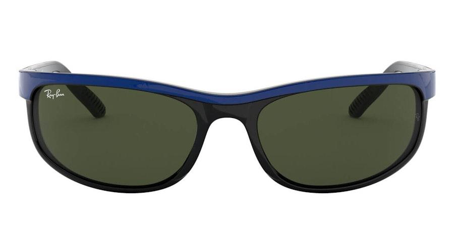 Ray-Ban Predator 2 RB 2027 (6301) Sunglasses Green / Blue