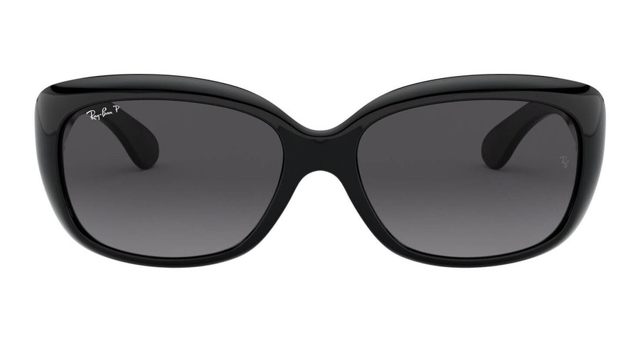 Ray-Ban Jackie Ohh RB 4101 (601/T3) Sunglasses Grey / Black