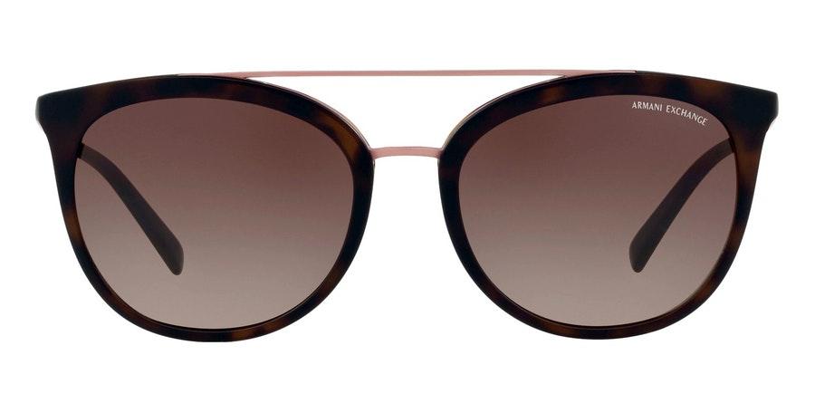 Armani Exchange AX 4068S Women's Sunglasses Brown / Tortoise Shell