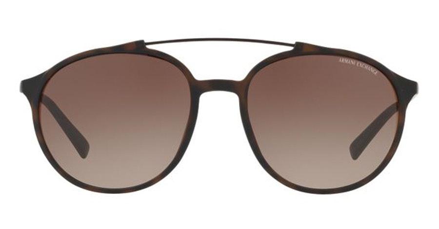 Armani Exchange AX 4069S (802913) Sunglasses Brown / Tortoise Shell
