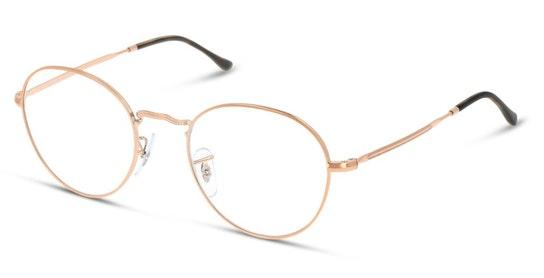 RX 3582V Unisex Glasses Transparent / Gold