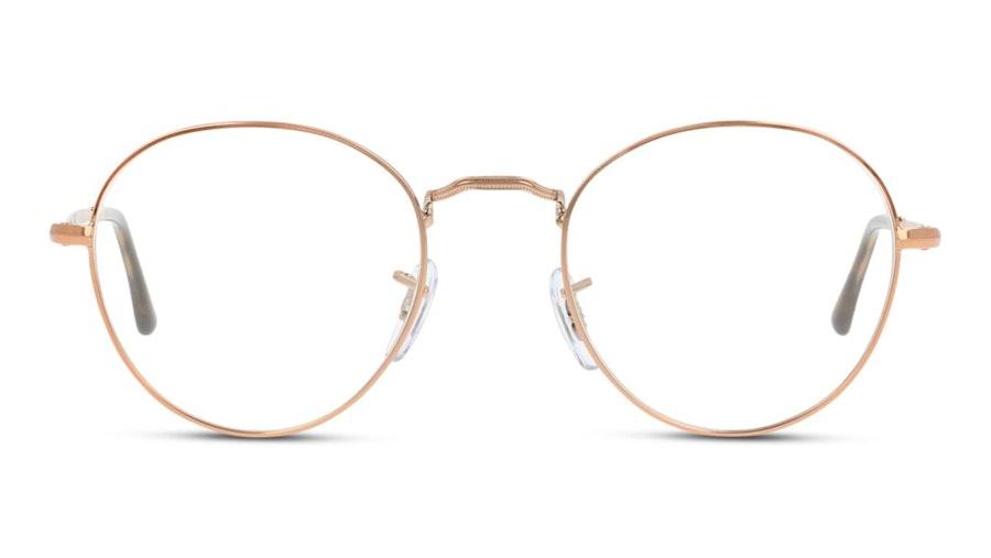 Ray-Ban RX 3582V Unisex Glasses Gold
