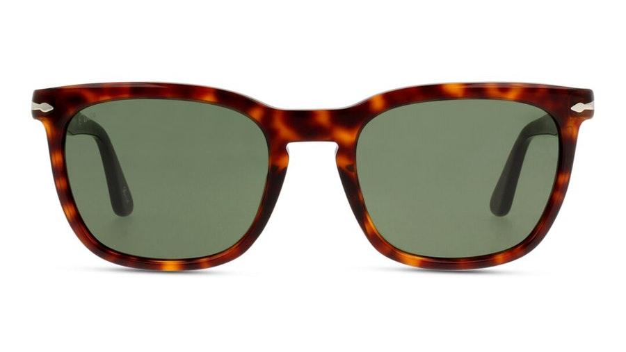 Persol PO 3193S Men's Sunglasses Green / Tortoise Shell