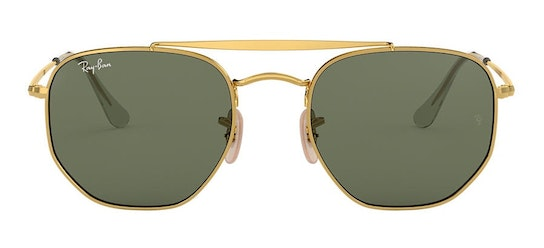 The Marshall RB 3648 Unisex Sunglasses Green / Gold