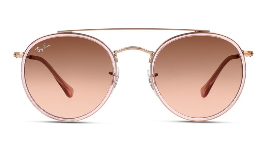 Ray-Ban RB 3647N (9069A5) Sunglasses Pink / Pink