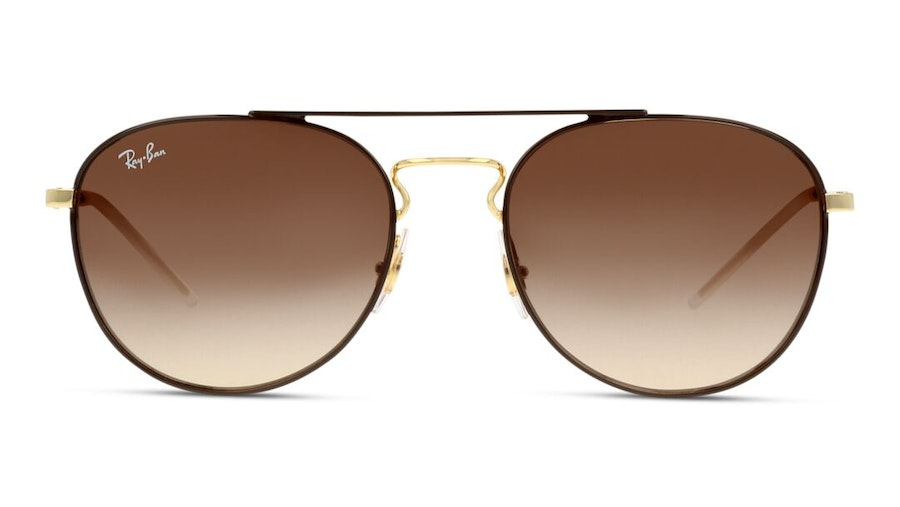 Ray-Ban RB 3589 (905513) Sunglasses Brown / Gold