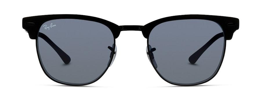 Ray-Ban Club Master Metal RB 3716 (186/R5) Sunglasses Blue / Black