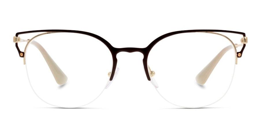 Prada PR 64UV Women's Glasses Brown