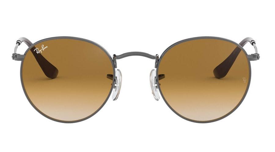 Ray-Ban Round Metal RB 3447N Men's Sunglasses Brown / Grey