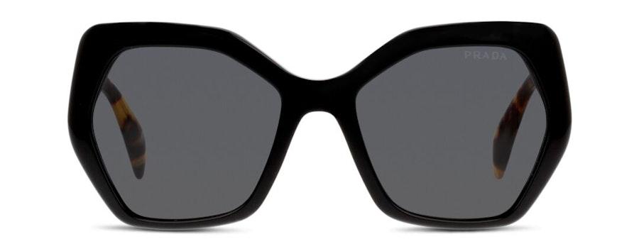 Prada PR 16RS (1AB5S0) Sunglasses Grey / Black