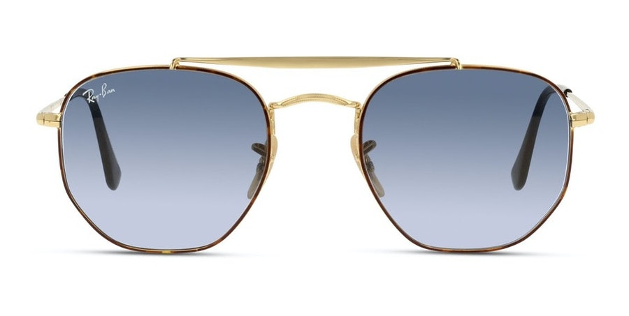 Ray-Ban The Marshall RB 3648 (91023M) Sunglasses Blue / Gold