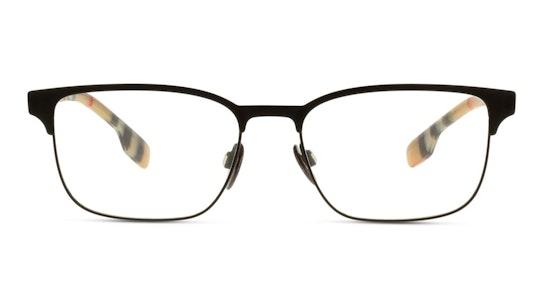 BE 1332 Men's Glasses Transparent / Black