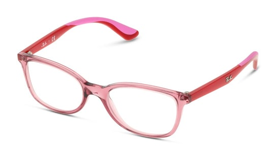 RY 1586 Children's Glasses Transparent / Red