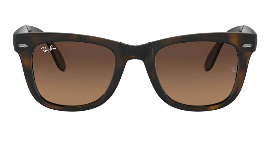 Ray-Ban Folding Wayfarer RB 4105 (894/43) Sunglasses Grey / Tortoise Shell