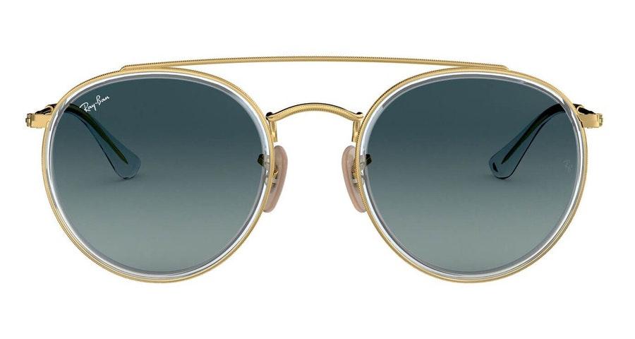 Ray-Ban RB 3647N Men's Sunglasses Grey/Gold