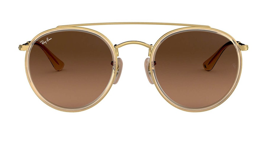 Ray-Ban RB 3647N (912443) Sunglasses Brown / Gold