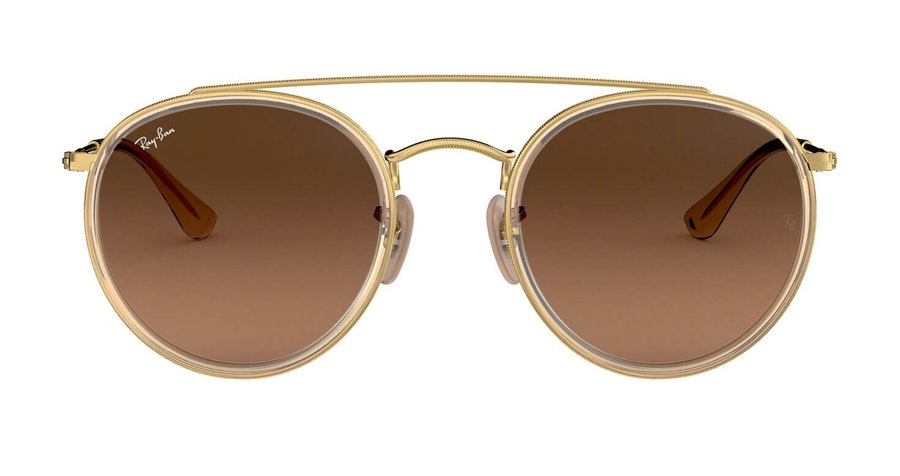 Ray-Ban RB 3647N Men's Sunglasses Brown/Gold