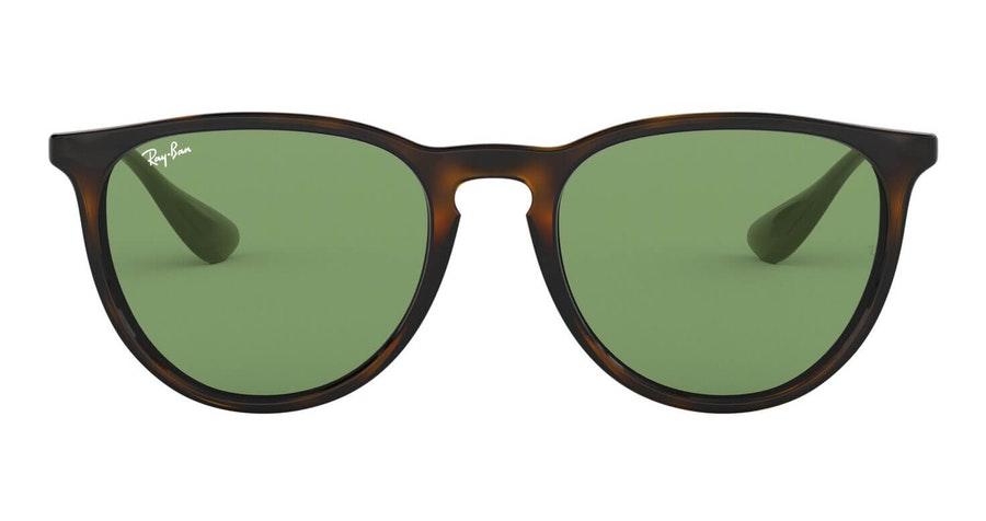 Ray-Ban Erika RB 4171 (6393/2) Sunglasses Green / Tortoise Shell