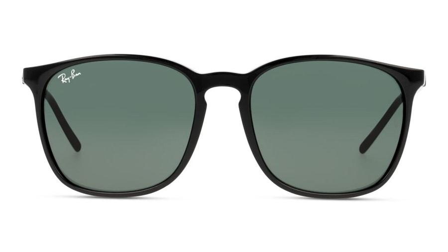 Ray-Ban RB 4387 Unisex Sunglasses Green / Black