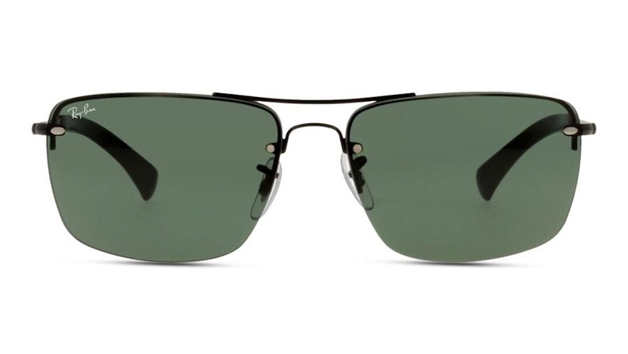 Ray-Ban RB 3607 (002/71) Sunglasses Green / Black