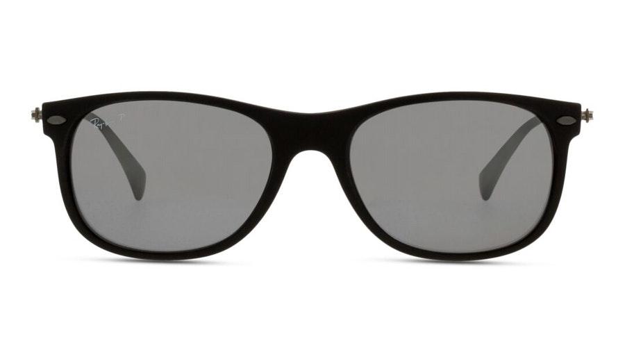 Ray-Ban RB 4318 Unisex Sunglasses Grey / Black