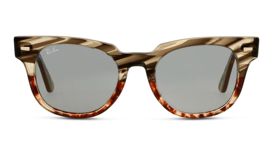 Ray-Ban Meteor RB 2168 (1254Y5) Sunglasses Blue / Brown