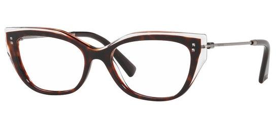 VA 3035 Women's Glasses Transparent / Tortoise Shell