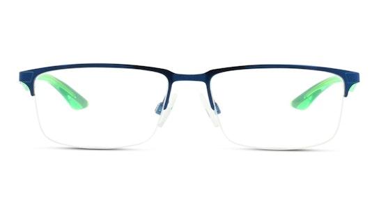 PU 0064O Men's Glasses Transparent / Blue