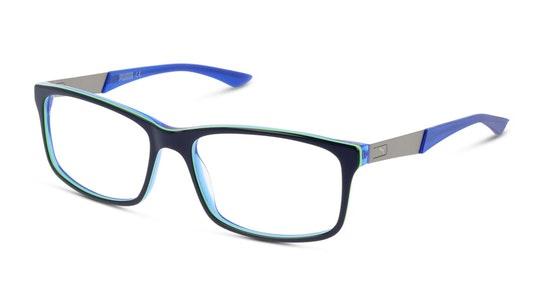 PU 0074O (Large) Men's Glasses Transparent / Blue