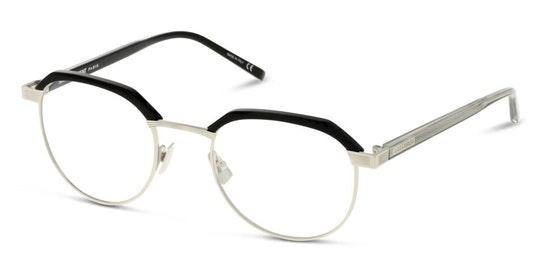 SL 124 Men's Glasses Transparent / Black