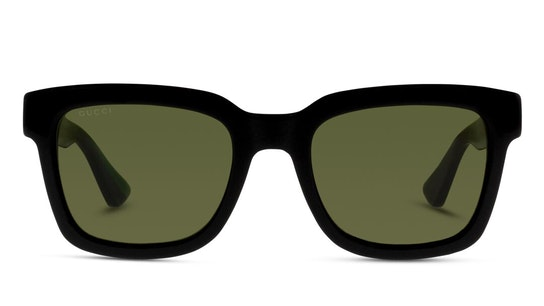 GG 0001S Unisex Sunglasses Green / Black