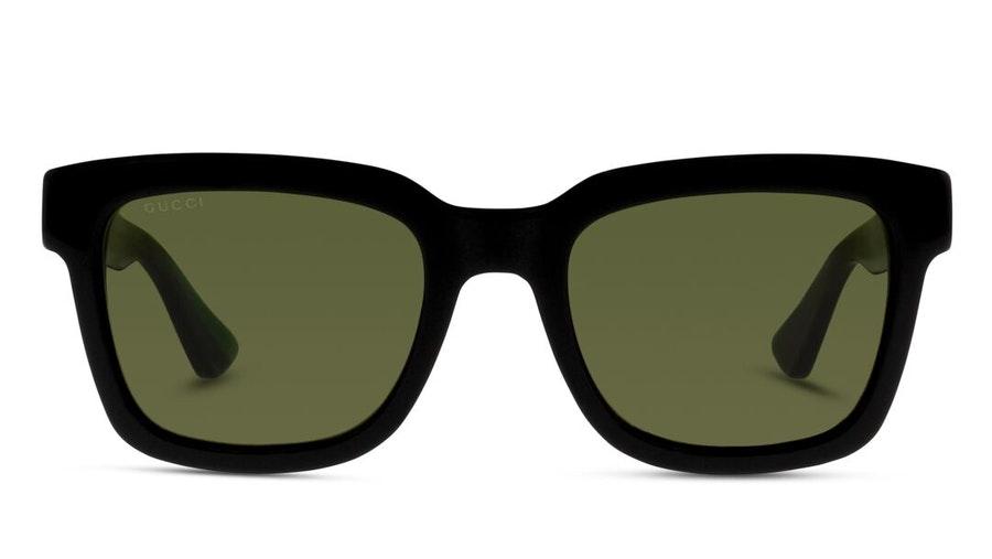Gucci GG 0001S Unisex Sunglasses Green / Black