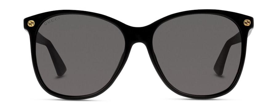 Gucci GG 0024S (001) Sunglasses Grey / Black