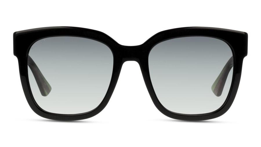 Gucci GG 0034S (002) Sunglasses Grey / Black