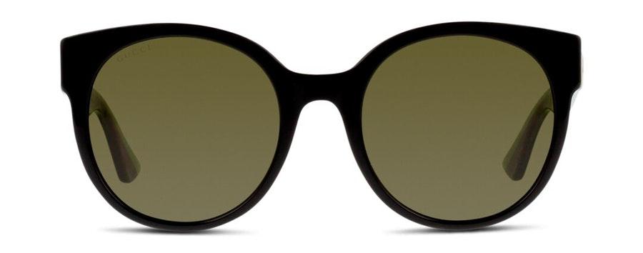 Gucci GG 0035S Women's Sunglasses Green / Black