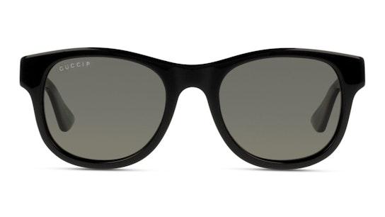 GG 0003S Men's Sunglasses Grey / Green