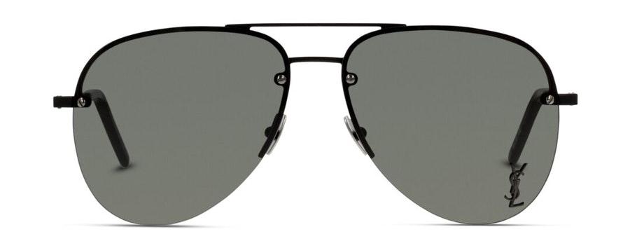 Saint Laurent Classic SL 11 M (001) Sunglasses Grey / Black