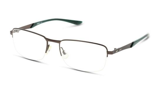 PU 0094O (Large) Men's Glasses Transparent / Black