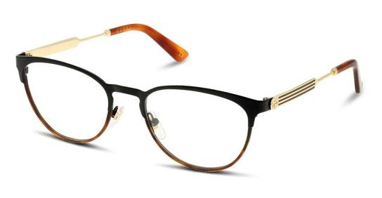 GG 0134O Women's Glasses Transparent / Black