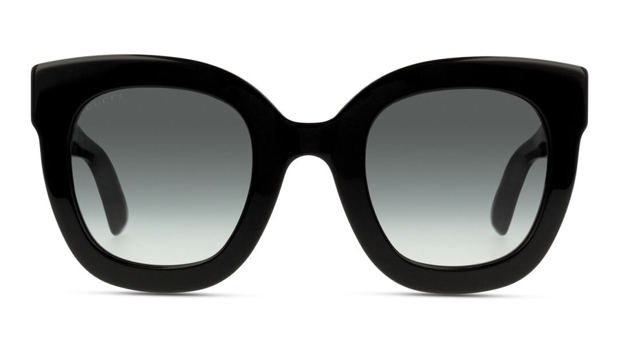 Gucci GG 0208S Women's Sunglasses Grey / Black