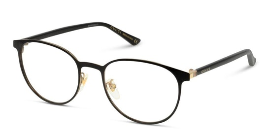 GG 0293O Men's Glasses Transparent / Black